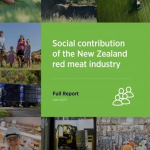 Social Contribution of the NZ Red Meat Industry